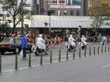 高千穂通りから橘通へ、左に曲がる