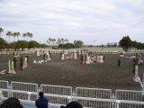 競技場。向うに見えるのは、かつては国営や公営が行われた競馬場